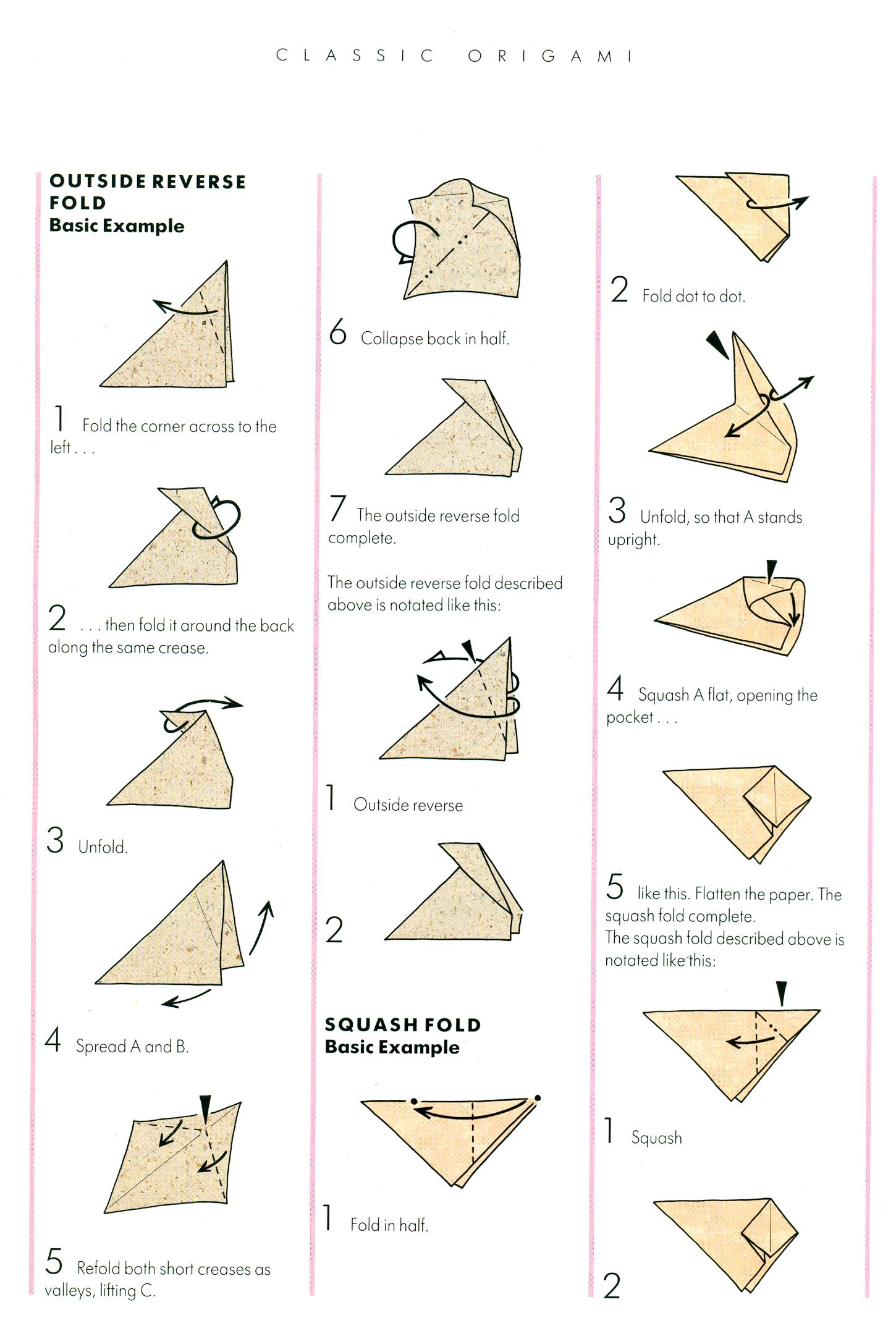 Origami African Animals Instructions