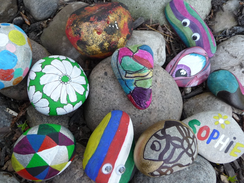 Rock Painting Ideas Stones