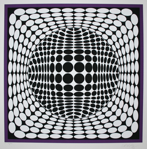 Vasarely and Op Art | ArtClubBlog