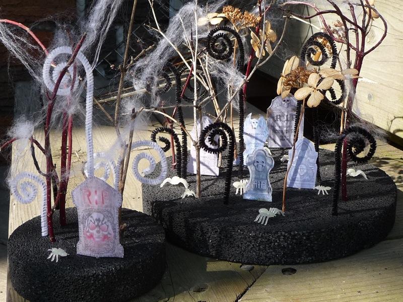 this creepy little garden was inspired by tim burton