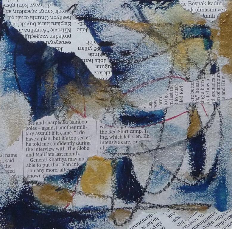 Texture Collage ArtClubBlog