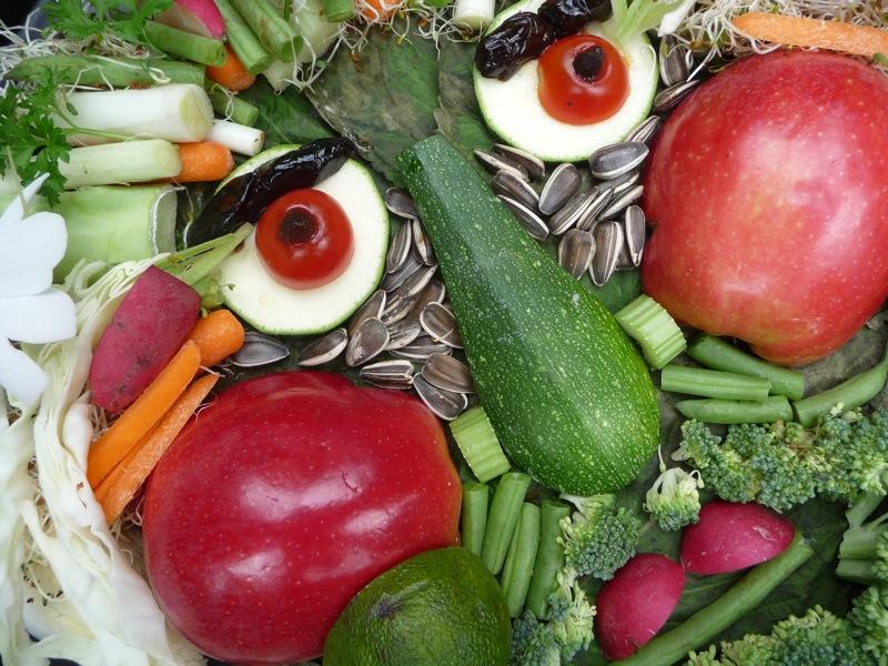 Fruit Vegetable Face Paintings