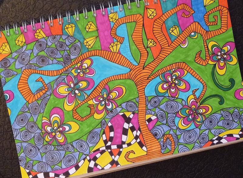 doodling lucy artclubblog