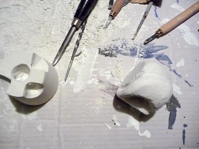 Sculpting In Plaster Artclubblog