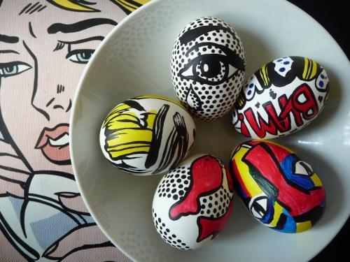 Comic Book Easter Eggs