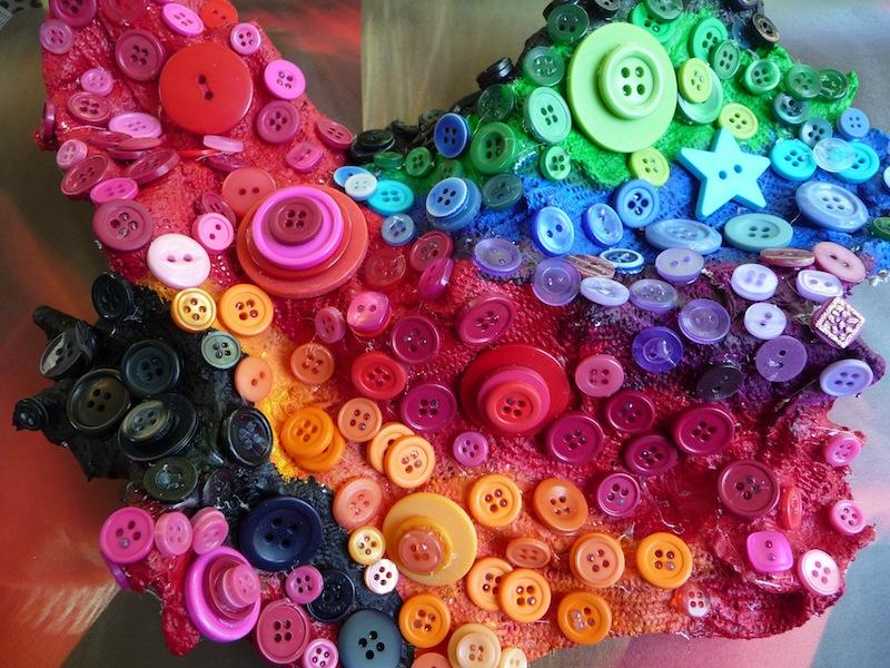 Buttons And Paint Artclubblog