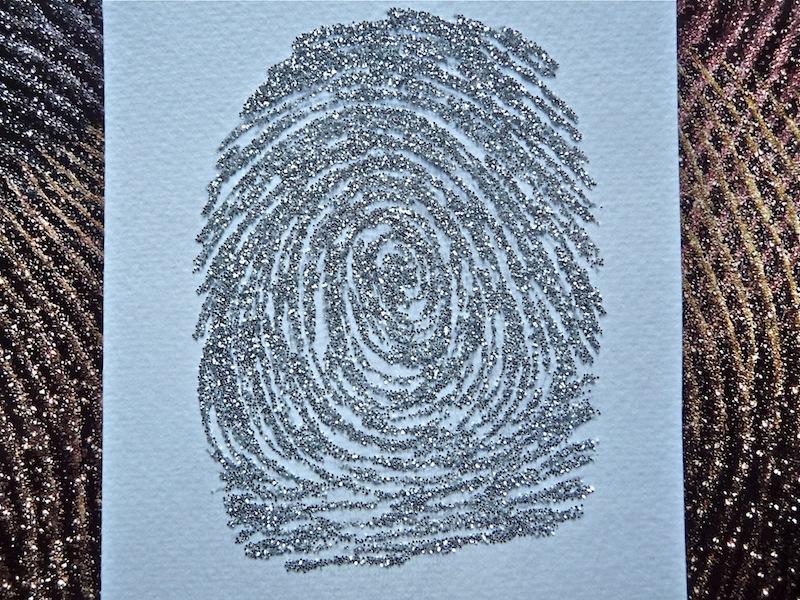 Child S Fingerprint Craft Artclubblog