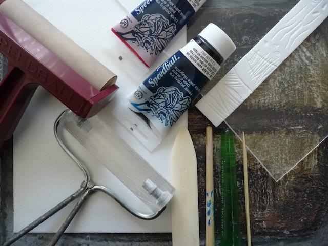 Scratch Foam Printmaking Artclubblog