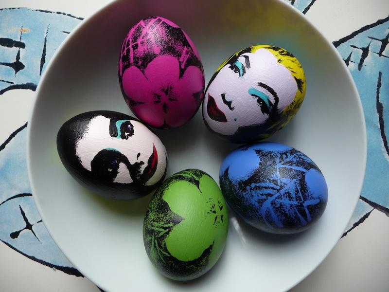 Painted Eggs 2 Artclubblog