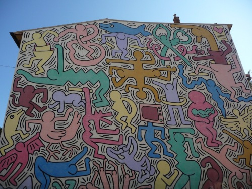 Pisa-Keith Haring Tuttomondo
